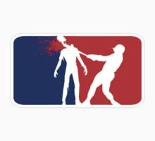 Zombie Down Baseball style by thatstickerguy