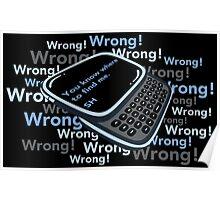 Texting Sherlock Poster