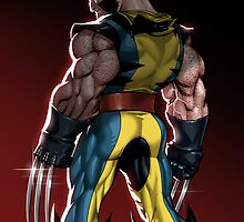 Wolverine by Sheep-n-Wolves