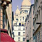 Montmartre, Paris, France.  by Forrest Harrison Gerke