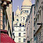 Montmartre, Paris, France.  by Forrest Harrison Gerke