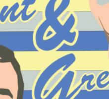 Ian & Jimmy Sticker