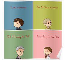 Sherlock Demotivationals Poster