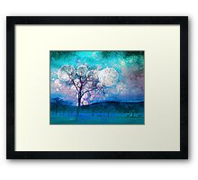 Trees and Ice Framed Print