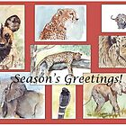 Season&#x27;s Greetings from Africa by Maree Clarkson