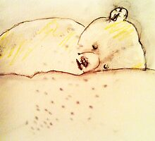 Gus the polar bear by donnamalone