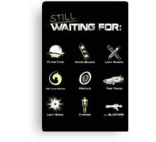 Still Waiting - V1 Canvas Print