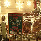 Parking for Santa's Sleigh by Jane Neill-Hancock