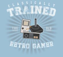 Classically Trained Retro Gamer Kids Clothes