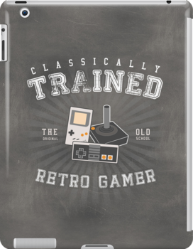 Classically Trained Retro Gamer by thehookshot