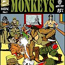 Fightin' Monkeys (Cover) print by ZugArt