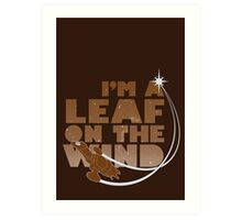 Leaf on the Wind - Browncoats Edition Art Print
