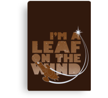 Leaf on the Wind - Browncoats Edition Canvas Print