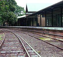 murwillumbah train station .. by gail woodbury