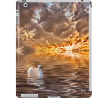 Swan at Sunrise iPad Case/Skin