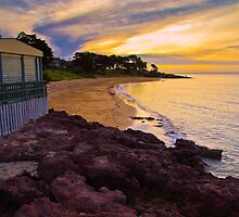 Cowes Beach Sunset Phillip Island Vic Australia by PhotoJoJo