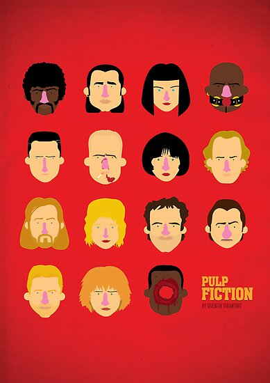 'Pulp Fiction' by Olaf Cuadras