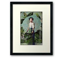 Morning Dew Girl Framed Print