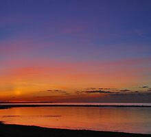 After Sunset by Adri  Padmos
