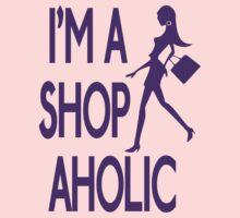 Shopaholic (purple)  by GraceMostrens