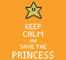 Keep Calm And Save The Princess V.2 by Seignemartin
