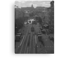 Main street in Gothenburg Canvas Print