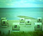 #NeinGrenze beach chairs by YourEyesAreMine