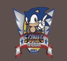 Sonic The Hedgehog Title by gmanquik
