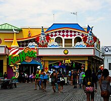 Fun House - Pt. Pleasant Beach NJ by Paul Gitto