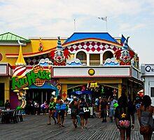 Fun House - Pt. Pleasant Beach NJ by Paul Gitto