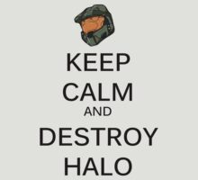 Keep Calm Halo by NateSempai