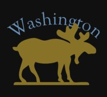 Washington Moose by pjwuebker