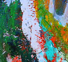 Cadillac Ranch Abstract #2 by reneecettie