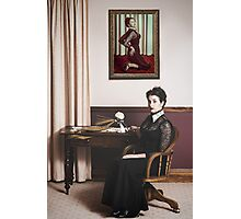 Thomasina loved her Spaghetti Photographic Print