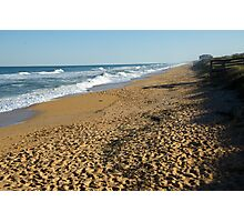 Footsteps at Cinnamon Beach  Photographic Print