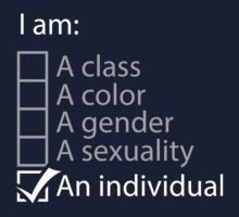 I am an individual. Kids Clothes
