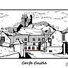 Corfe Castle by Simon30