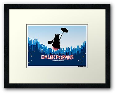 Dalek Poppins the new Musikill by ToneCartoons