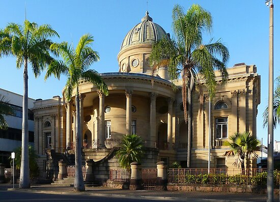 Customs House - Rockhampton by stevealder
