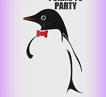 Party Penguin iCase by Image6