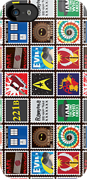Nerd's Stamp Collection: Organized by mcgani