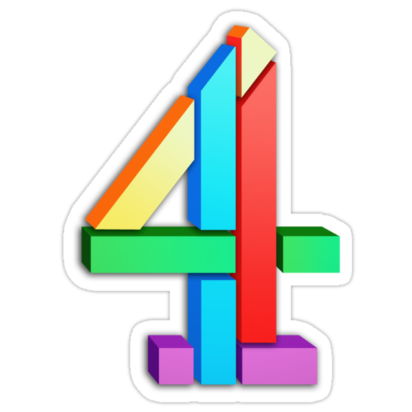 Channel 4 retro logo  by unloveablesteve