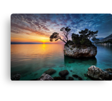 Moods of sunset Canvas Print