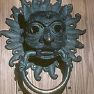 Original Sanctuary knocker now in  Museum Durham Cathedral 198101040058 by Fred Mitchell