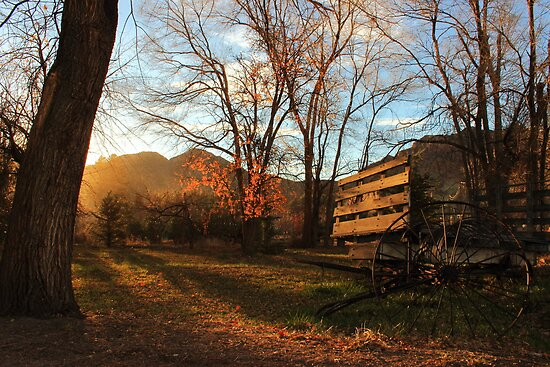 Farm Sunset by ekingrn