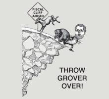 Throw Grover Over T-Shirt by TheSmile