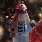Faith, Hope, Love This Christmas by vigor