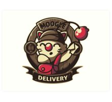 Moogle Delivery Art Print