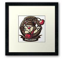 Moogle Delivery Framed Print
