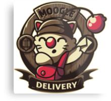 Moogle Delivery Metal Print